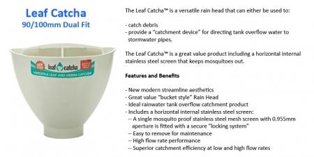 Rain Catcher - 90mm/100mm - $19.00