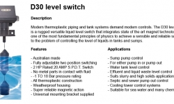 Kelco D30 Level Float Switch