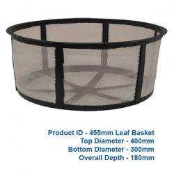 Deep Leaf Basket - 455mm - $57.00