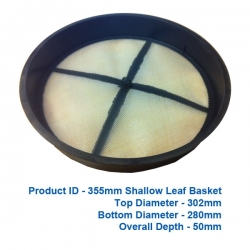 Shallow Leaf Basket - 355mm - $30.00