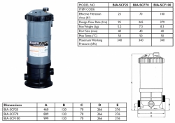 Cartridge Filter - BIA-SCF70 - $582.00
