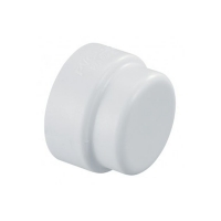 PVC Lock - End Cap - 1in - 08680