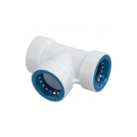 PVC Lock - T-Piece - 1in - 08672