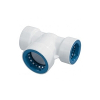 PVC Lock - T-Piece - 3-4 - 1in - 08684