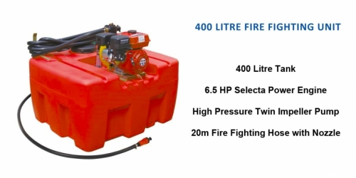 400 Litre Fire Fighting Unit