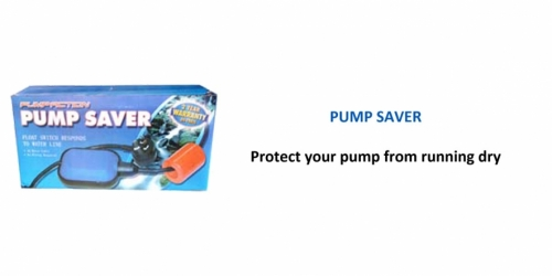 Pump Action Pump Saver