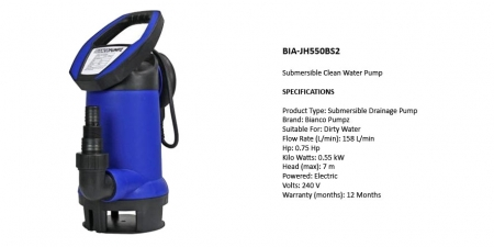 BIA-JH550BS2