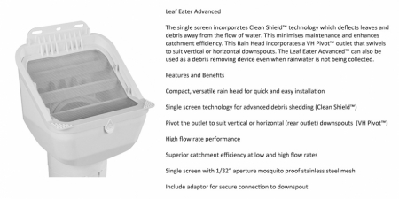 Leaf Eater Advanced - 90mm $65.00