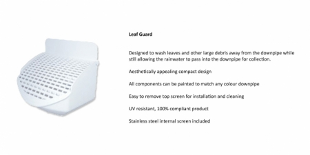 Leaf Guard (Plastec) - $50.00