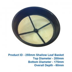 Shallow Leaf Basket - 255mm - $25.00