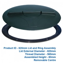 Lid and Ring - 620mm - P.O.A