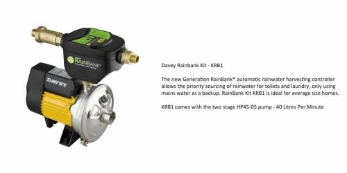 Davey Rainbank KRB1 - P.O.A