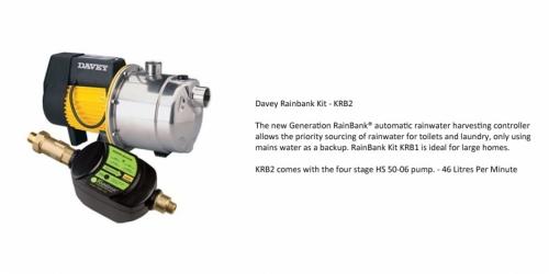 Davey Rainbank KRB2 - P.O.A