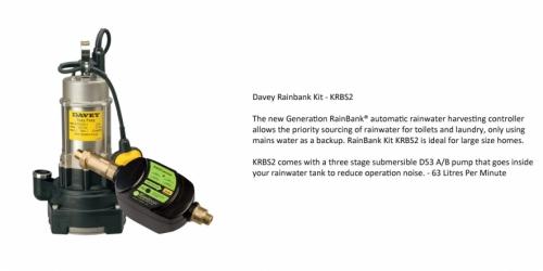 Davey Rainbank KRBS2 - P.O.A