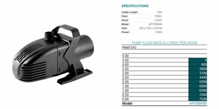 AquaPro - AP7500HM - $368.00
