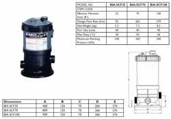 Cartridge Filter - BIA-SCF25 - $369.00