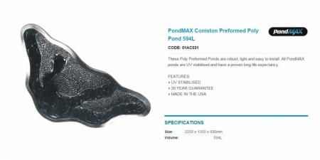 PondMAX - Coniston