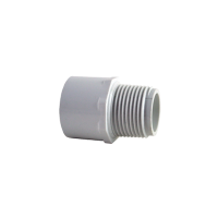 Straight Connector - PVC to MBSP