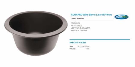 AQUAPRO Wine Barrel Liner Ø710mm