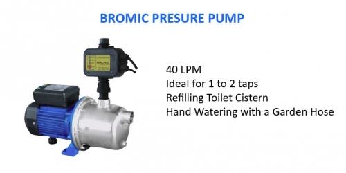 Bromic 40lpm Pressure Pump