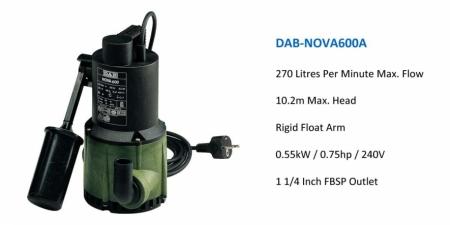 DAB NOVA 600A - $734.00