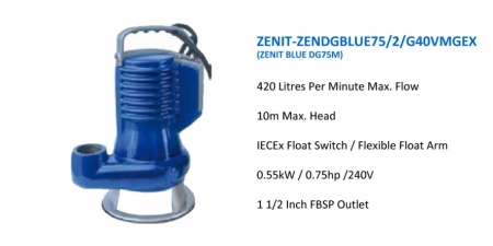 ZENIT-ZENDGBLUE75-2-G40VMGEX - DG40M - $933.00