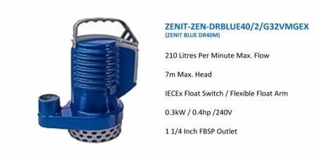 ZENIT-ZENDRBLUE40-2-G32VMGEX - DR40M - $666.00