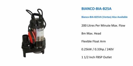 BIANCO BIA-B25A - $465.00