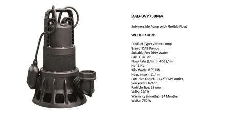 DAB-BVP750MA