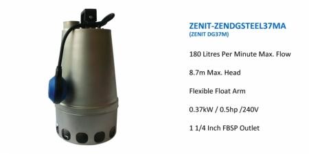 ZENIT-DGSTEEL37MA - DG37M - $768.00