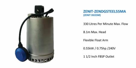 ZENIT-DGSTEEL55MA - DG55M - $940.00