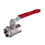 Brass Ball Valve (Nickel Plated)