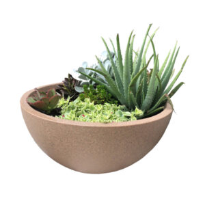 Poly Bowl Planter - Large
